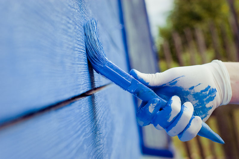 what is the best finish for exterior paint