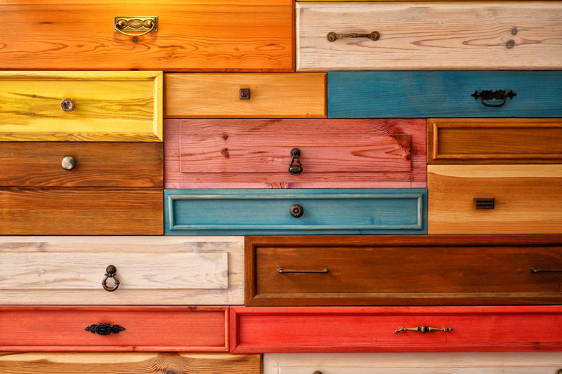 How to make old wood cabinets look new again home logic for How to make old cabinets look modern