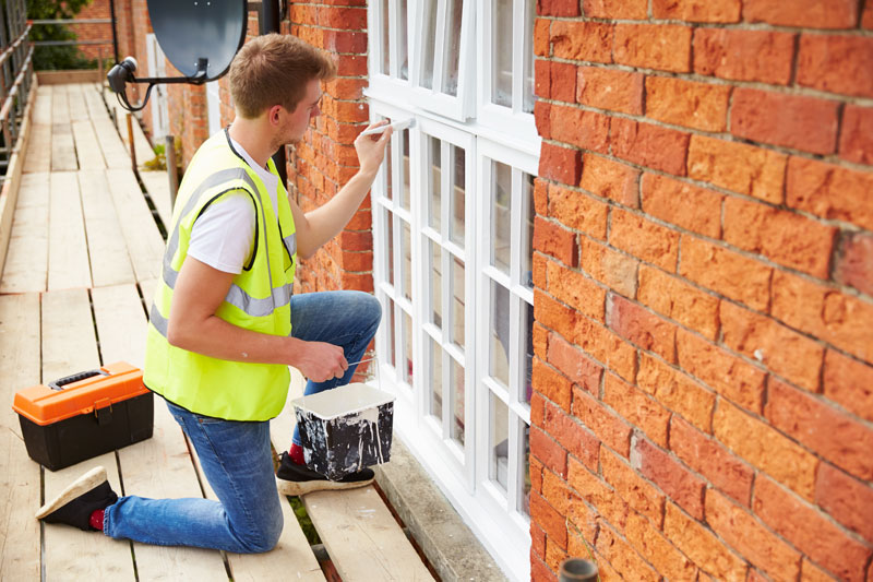 how to prep exterior windows for painting the easy way home logic