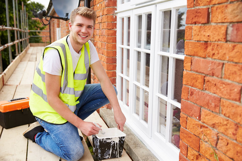 How To Prep Exterior Windows For Painting The Easy Way