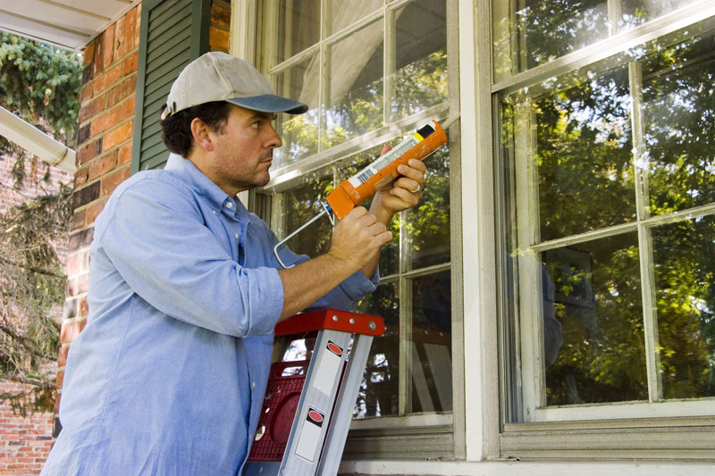 how to fix a leaking window sill