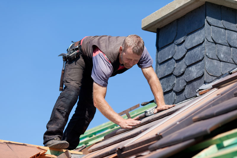 is spray foam suitable for slate roofed homes